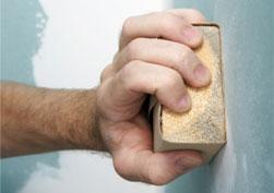 la prparation des murs pour la peinture intrieure