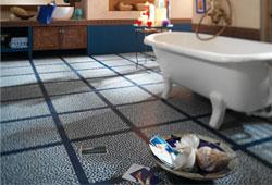 Tout conna tre sur les dalles de moquette de linoleum et - Dalles pvc adhesives pour salle de bain ...
