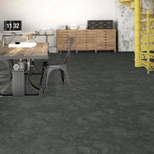 dalle sol pvc clipsable click 5g aspect ardoise naturelle. Black Bedroom Furniture Sets. Home Design Ideas