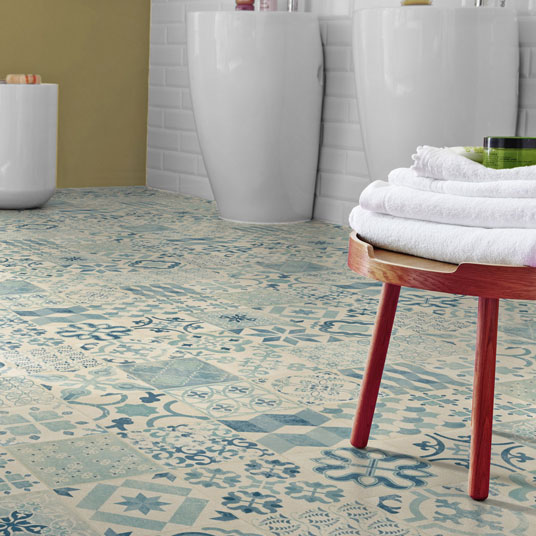 Lino imitation carreaux de ciment amazing decoration for Lino imitation carrelage blanc