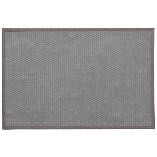 tapis ext rieur pvc tress taupe 120 x 180 cm. Black Bedroom Furniture Sets. Home Design Ideas