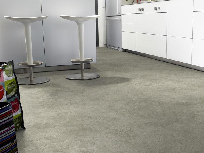 chute de sol pvc best effet b ton gris. Black Bedroom Furniture Sets. Home Design Ideas