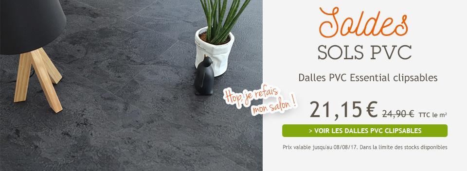 Gazon synthetique tapis sur mesure sol pvc moquette - Dalle vinyle clipsable ...