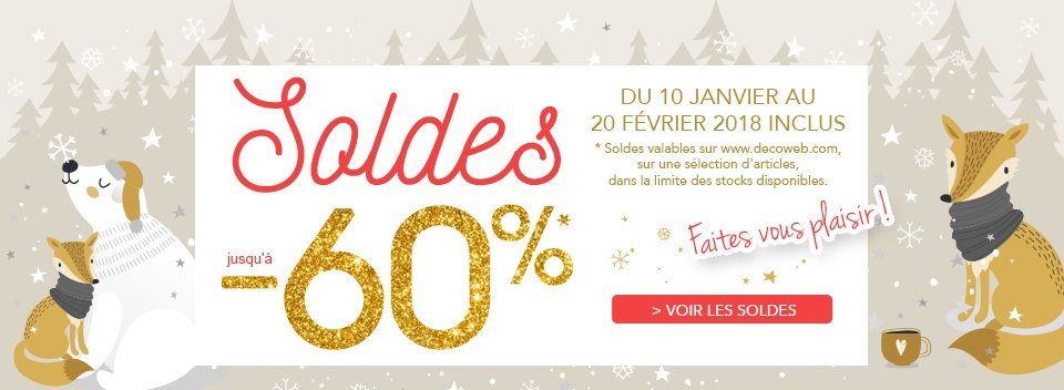 Soldes hivers 2018