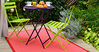 Tapis gazon et d�co terrasse