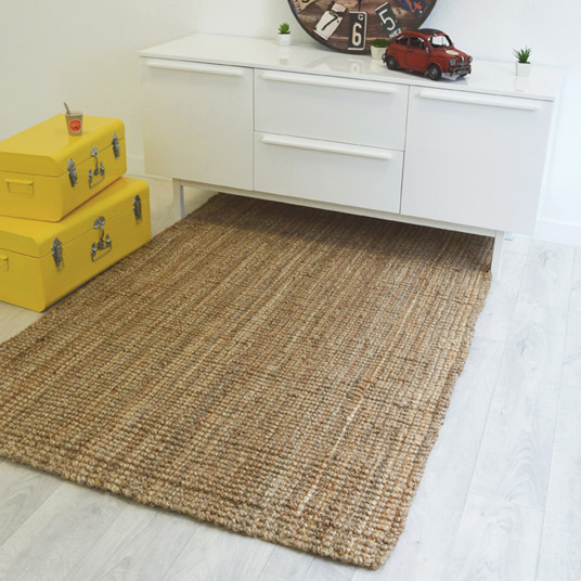tapis naturel boh me 100 jute tous les tapis d co prix discount. Black Bedroom Furniture Sets. Home Design Ideas