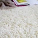 Moquette Shaggy Softy - Blanc