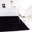 Tapis Softy Shaggy - Noir
