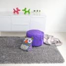Visuel - Tapis Sweety Shaggy - Argent