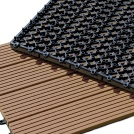 Visuel - Dalle Terrasse Composite clipsable - Brun Exotique
