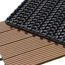 Dalles de terrasse en bois composite - Dalle clipsable terrasse ...