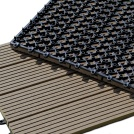 Visuel - Dalle Terrasse Composite clipsable - Chocolat
