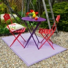 tapis ext rieur pvc tress marron tous les tapis d co. Black Bedroom Furniture Sets. Home Design Ideas