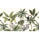 Tapis vinyle - Motif jungle - forêt tropicale