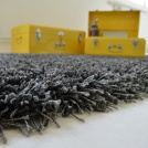 Moquette shaggy Softy - Gris