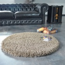 Visuel - Déstockage Tapis Sweety Shaggy - Taupe chiné