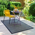 tapis d 39 ext rieur en pvc et gazons pour terrasse balcon piscine. Black Bedroom Furniture Sets. Home Design Ideas