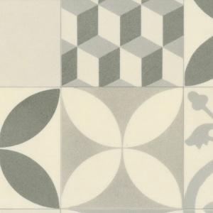 Sol Vinyle Textile Rénove - Imitation Carreaux de ciment ...