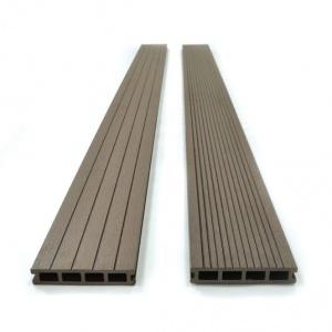 Lame Terrasse En Bois Composite Chocolat Lames En Bois Composite