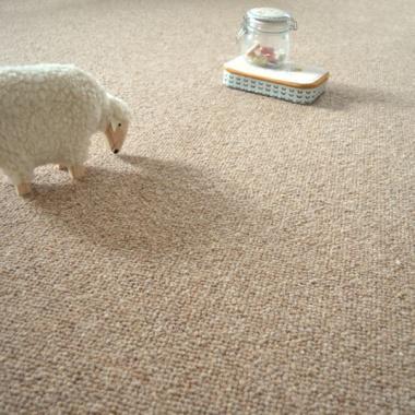 Tapis sur mesure pure laine latoon beige for Moquette pure laine