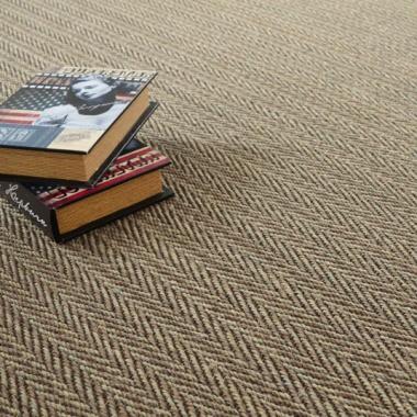 tapis sur mesure sisal nairobi chevron. Black Bedroom Furniture Sets. Home Design Ideas