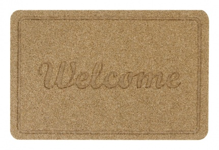 Paillasson Motif Déco Welcome - 39x60cm