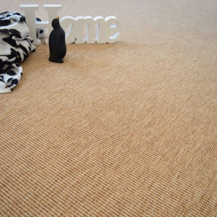Tapis Mahé Naturel - Galon synthétique Marron - 200 x 290 cm
