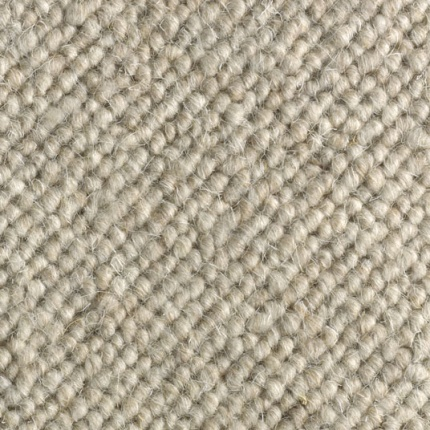 Moquette centaure boucl e pure laine beige ros larg 4m for Moquette pure laine