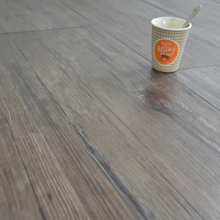 Lame large sol pvc adh sive bois fonc lames de sol - Pose lame pvc adhesive ...