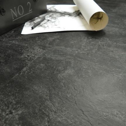 Dalle sol pvc adh sive aspect ardoise naturelle - Dalle vinyle adhesive ...