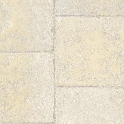 Sol pvc premium envers textile motif dalle pierre larg 4m Rouleau sol pvc