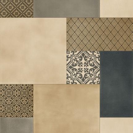 chute de sol vinyle podium patchwork carreaux. Black Bedroom Furniture Sets. Home Design Ideas