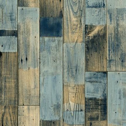 sol vinyle podium imitation parquet bleut larg 2m. Black Bedroom Furniture Sets. Home Design Ideas