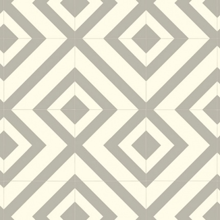 sol vinyle style imitation carrelage losange gris larg 2m. Black Bedroom Furniture Sets. Home Design Ideas