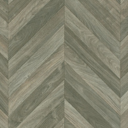 chute de sol vinyle lino imitation parquet chevrons gris fonc. Black Bedroom Furniture Sets. Home Design Ideas