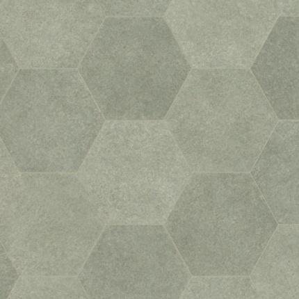 sol vinyle pvc r nove imitation carrelage hexagonal gris. Black Bedroom Furniture Sets. Home Design Ideas