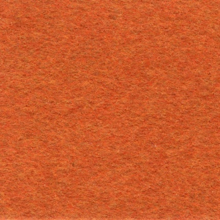 Moquette filmée - Stand Event - Orange citrouille - 3m x 30ml