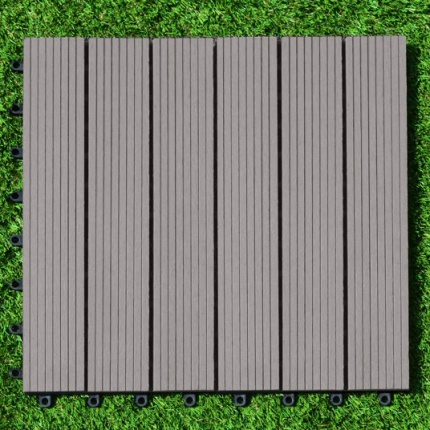 Dalle terrasse composite gris 45 x 45 cm dalles terrasse composite ac - Dalles composite terrasse ...