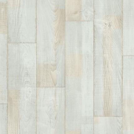 Sol pvc smart imitation parquet bois recycl blanc larg 4m - Prix sol pvc imitation parquet ...