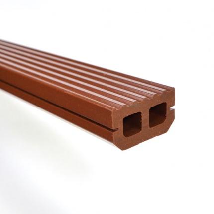 lambourde pour lames en bois composite brun exotique. Black Bedroom Furniture Sets. Home Design Ideas