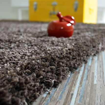 Tapis Shaggy Sweety Brun