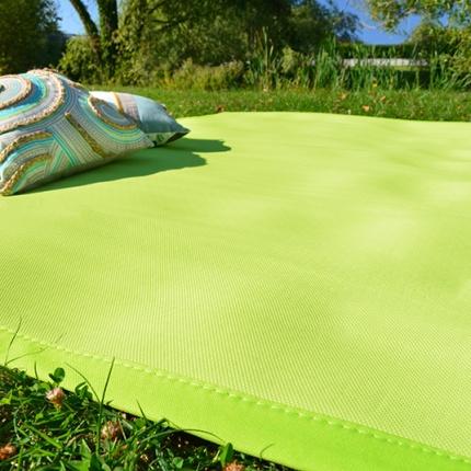 tapis ext rieur pvc tress vert pomme. Black Bedroom Furniture Sets. Home Design Ideas