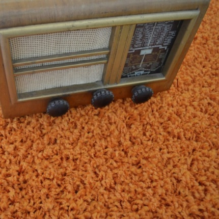 Moquette Shaggy Premier - Orange
