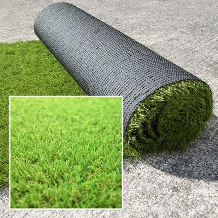 Rouleau gazon synth tique vert prairie 30mm 1m x 3m for Acheter gazon en rouleau