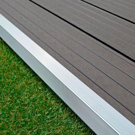 Profil de finition aluminium terrasse composite - Terrasse composite avis ...