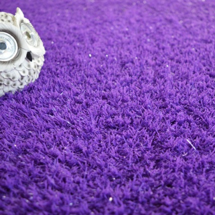 Gazon artificiel Peps - Couleur Violet - 20mm - Larg. 2m