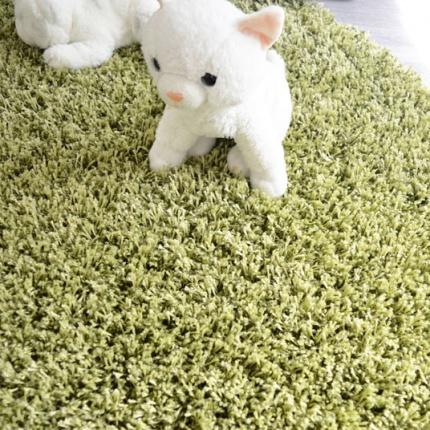 Moquette shaggy softy vert larg 4m for Moquette tres epaisse