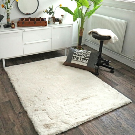 Tapis fausse peau de mouton - rectangle