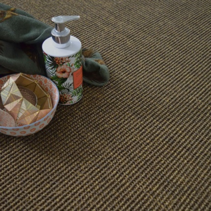 Moquette sisal Yucatan - Cacao - Larg. 4m