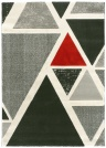 Tapis de salon design - Seventies - Triangles multicolores